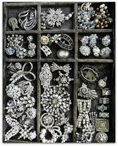 ♕ gorgeous collection of vintage & antique jewelry