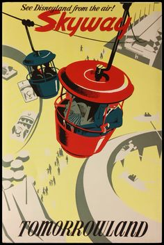 Disneyland, Skyway , Bjorn Aronson, 1956