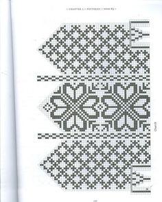Selbuvotter - Biography of a Knitting Tradition (book) - Monika Romanoff - Picasa Web Albums Knitted Gloves, Knitting Charts, Knitting Patterns, Knitting Ideas, Fair Isle Chart, Scandinavian Pattern, Needlework, Album, Picasa