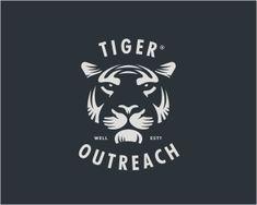 Tiger Otutreach Logo Design | More logos http://blog.logoswish.com/category/logo-inspiration-gallery/ #logo #design #inspiration
