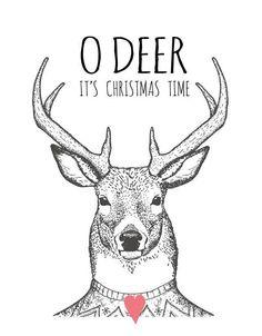 Ohh Deer It'S Christmas Time•☆.•*CS