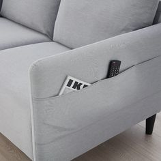 IKEA - ANGERSBY, sofa, Knisa light grey, The sofa is packaged in a space-efficient way, making it easy to transport and carry into your home. Laminated Veneer Lumber, Bed Pillows, Cushions, Polypropylene Plastic, Polyurethane Foam, Plaza, Decorative Pillows, New Homes, Couch