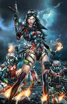 GI:Joe-Baroness by Jamie Tyndall Comic Book Characters, Comic Character, Comic Books Art, Female Characters, Comic Art, Female Villains, Comics Anime, Comic Manga, Dc Comics