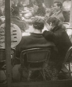 Paris cafe, 1959 (Franz K. Opitz).