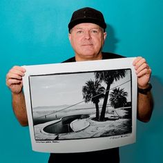Dive behind this iconic photo of the Salton Sea pool, featured in the new Nixon Photo Tee Series. #nixon