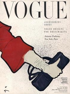 Publication Name | September 15 1949 Jacques Fath, Vogue Vintage, Vintage Vogue Covers, Vintage Fashion, Marie Claire, Givenchy, Balenciaga, Old Magazines, Vintage Magazines