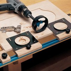 Rockler JIG IT® for Concealed Hinges, Multi-Tool Rail Master Pack