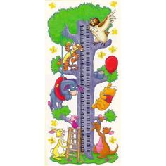 winnie the pooh growth chart - Google Search