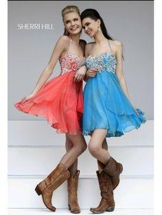 Chiffon Summer Party Dress