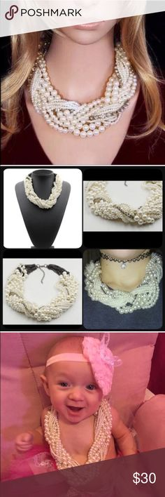 (LAST ONE) Big Pearl Necklace See pic Jewelry Necklaces