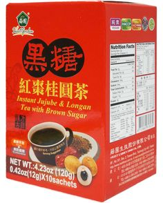 JUJUBE LONGAN TEA W BROWN SUGAR 236190S111