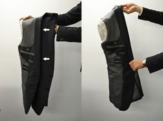 to Pack a Suit — 4 Simple Steps to Fold a Suit Properly Something I've always wanted to know how to do: How to fold a suit jacket when traveling. Now isn't that clever Suitcase Packing, Travel Packing, Guy, Gentleman Style, Look Cool, Sport Coat, Stylish Men, Well Dressed, Mens Suits