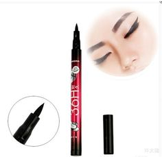 SuperDeals Black Eyeliner Waterproof Liquid Make Up Beauty Comestics Eye Liner Pencil Pen HI