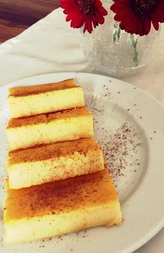 Pita Recipes, Greek Recipes, Cooking Recipes, Delicious Desserts, Dessert Recipes, Yummy Food, Greek Cake, Greek Desserts, Custard Cake