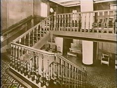 Titanic- 2nd Class Aft Staircase