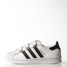 adidas Superstar sko - Vit storlek 35 | adidas Sweden
