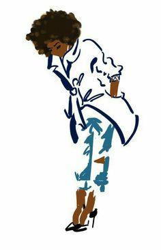by deborah cartwright - Art Black Love, Black Girl Art, Art Girl, Black Girls Rock, African American Art, African Art, Art Pulp, Arte Black, Wal Art