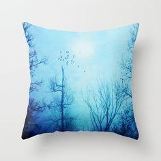 Morning view Throw Pillow by Viviana González - $20.00