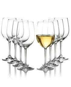 Image 1 of Riedel Vinum Chardonnay & Chablis Wine Glasses 8 Piece Value Set Chablis Wine, Value Set, Crystal Wine Glasses, Drinking Glass, Glass Collection, Drinkware, White Wine, Crystals, Contemporary Design