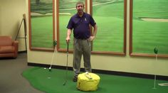 Mike Fromuth, shows us in this video one of his favorite drills for people to work on at home.  The impact bag when used properly will help people get into the proper postion at that all important moment of impact. Check it out here for more training tips: http://bit.ly/1G4UKiz please take a look also at this website for more information about Golftec http://golflessonsstlouis.weebly.com/ follow us on twitter for more tips in from Mike: https://twitter.com/GolfTecClayton