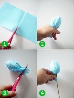 Bird's Party Blog: DIY Easter Egg Centerpiece Tutorial + 3 More Easter Party Ideas!!
