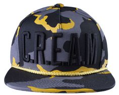 2459b11ee48a6 Details about Wu Tang Brand Ltd Desert Swarm C.R.E.A.M. Camo Snapback  Baseball Hat Cap NWT