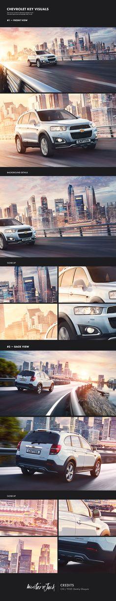 Chevrolet Captiva, Poster © Дмитрий Глазырин