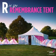 Click through to read about the special Remembrance Tent on the Susan G. Komen 3-Day. #The3Day