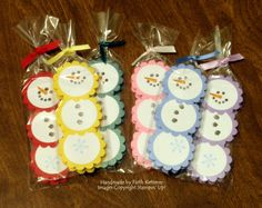 Peppermint Patty Snowmen : Coffee & Chocolate & Stamps ~ Oh My!