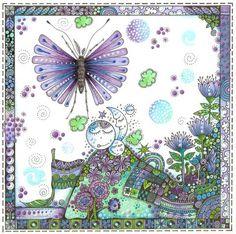 Bugs & Butterflies. Love Anns Doodles