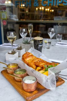 Stephenson Wright Ltd | The Great British Mayfair Fish & Chips London…