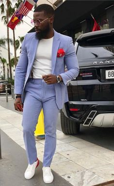 Discover recipes, home ideas, style inspiration and other ideas to try. Blazer Outfits Men, Swag Outfits Men, Mode Masculine, Prom Suits For Men, Cool Prom Suits, Homecoming Suits, Nails Short, Urban Fashion, Office Fashion
