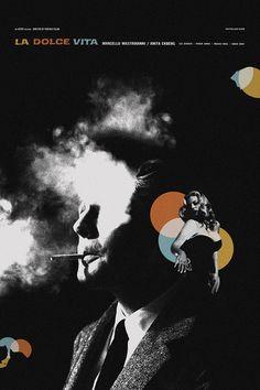 La Dolce Vita alternative movie poster