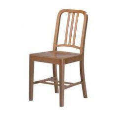 Silla Marine Wood, Replica silla Navy. Encuentra Mobiliario de Diseño con envíos a todo México en www.lasddi.com