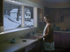 Fine-Art photographer Gregory Crewdson explores solitude in the woodlands of his hometown