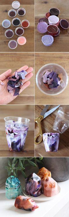 DIY Gemstone Soap Kit: