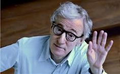 """Woody Allen: Accused of molesting adopted 7 yr. old adopted daughter. Mia Farrow writes an open letter asking Hollywood,""""What if it had been YOUR CHILD? Woody Allen, Ben Whishaw, Anthony Hopkins, John Travolta, Al Pacino, Jim Carrey, Martin Scorsese, Jack Nicholson, Stanley Kubrick"""