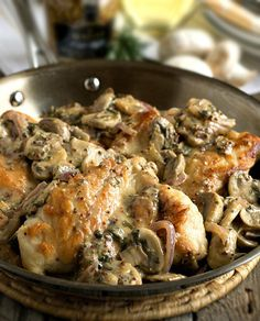 """Quick Chicken Stroganoff"" from the Dr. Phil Diet Plan http://www.perfectportions.com/"
