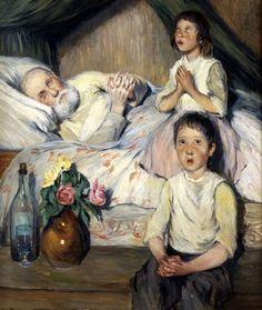 """Praying For Grandpa"" ... by Nikolai Bogdanov Belski"