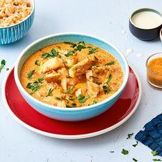 Curry de haddock et riz indien - illico Fresco
