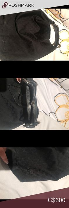 Gucci hobo large bag Bought off a lady here. But to big for me  The bag is in ok condition. Has some damage in corners as seen in pictures Gucci Bags Hobos