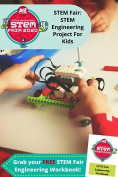 Creativity is key to engineering projects. Get your homeschooler inspired to start their STEM Fair engineering project with these tips, ideas, and resources! Engineering Projects, Stem Projects, Science Projects, Projects For Kids, Homeschool Blogs, Homeschooling, What Is Stem, Stem For Kids, Steam Activities