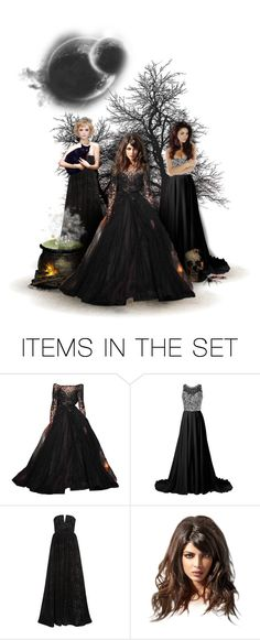 """coven"" by forebodinq ❤ liked on Polyvore featuring art and 221submitOctober"