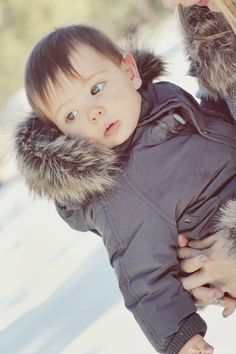 My Love and Beyond - Mommy & Baby Fashion Blog: Mason's first time in the snow