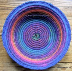 The actual tutorial page -Crochet Coiled Basket Guidelines & Ideas | Fiber Art Reflections