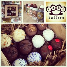 thecakeballers It's that time of year again for our rad Fathers Day assorted beer dozens!! Email us to reserve your order! Info@cakeballers.com is your sweet ticket to the balls. We teamed up with 2 of our favorite local Idaho breweries @crookedfence & @payettebrewing to bring you 6 rad beer infused cake balls. Flavors include: Rusty Nail vanilla beer with salted pretzel, Outlaw Mexican mocha, Picket Porter triple chocolate, Mutton Buster coconut almond chocolate, Fly Line salted caramel…