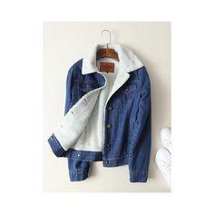 Single-breasted denim coats ($42) ❤ liked on Polyvore featuring plus size women's fashion, plus size clothing, plus size outerwear, plus size coats, dark blue, leather-sleeve coats, lapel coat, blue coat, long sleeve coat and single-breasted trench coats