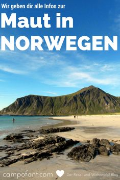 Especially in the holiday planning for Scandinavia, the question of the toll in Norway arises again Travel The World Quotes, Travel Around The World, Stavanger, Lofoten, Norway Roadtrip, Motorhome Travels, Off Road Camper, Most Beautiful Beaches, Work Travel