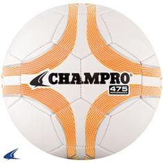 Optic Yellow CHAMPRO Sports Thermal-Bonded Soccer Ball 1500 4 SB1500