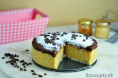 Kokosovo-krupicový koláč - FitRecepty Vegan Treats, Tiramisu, Stevia, Cheesecake, Clean Eating, Healthy Recipes, Ethnic Recipes, Desserts, Free